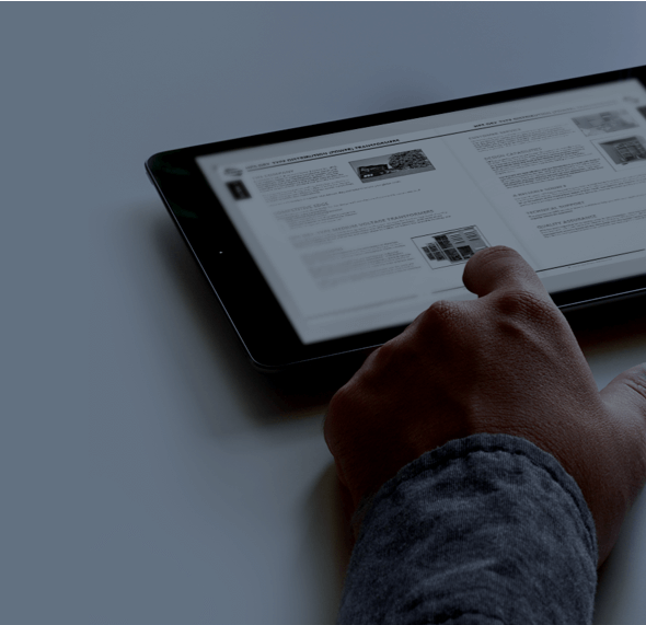 hps documents on tablet