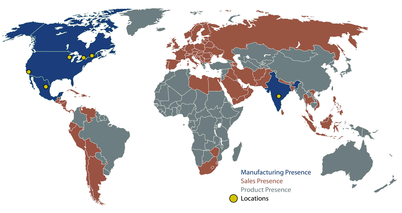 HPS Global Locations & Presence