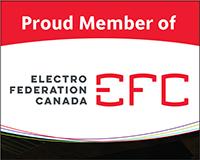 Proud Member of Electro Federation Canada logo